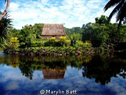 Ancient Chiefs Lodge Pearl Harbor Fiji by Marylin Batt 